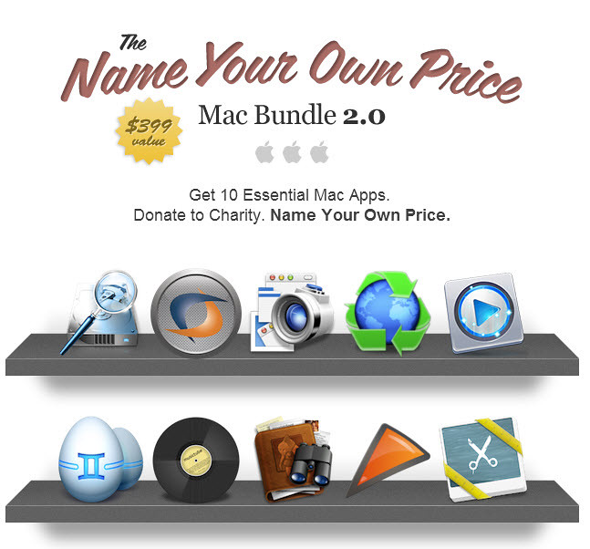 Mac 特價軟體包,多少錢自己決定 Mac Bundle 2.0 @3C 達人廖阿輝