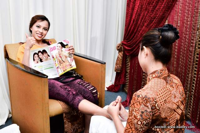 Sesi belai diri buat Selebriti di Anugerah Bintang Popular Berita