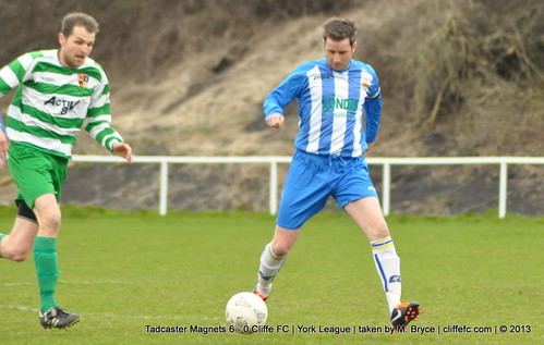 Cliffe FC 0 - 6 Tadcaster Magnets 17Apr13