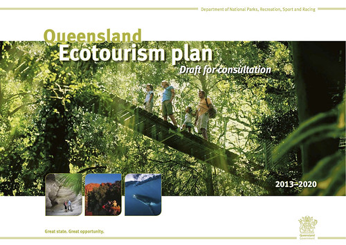 Queensland Ecotourism plan (draft for consultation) 2013-2020