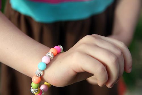 Glass-Bead-Bracelet