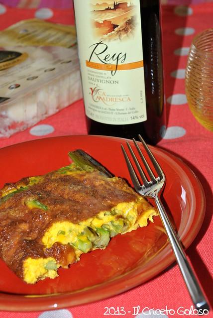 Sformato di uova e asparagi alla Raspadura (3)