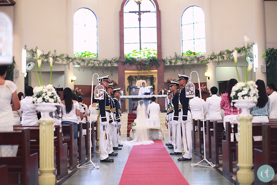 St Therese Church Lahug, Cebu Wedding Photographer
