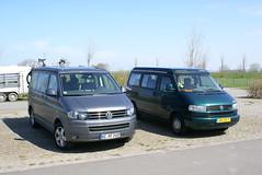 Parkeerplaats bij Groede Podium