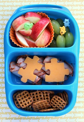 fun lunch in a bynto bento lunch box