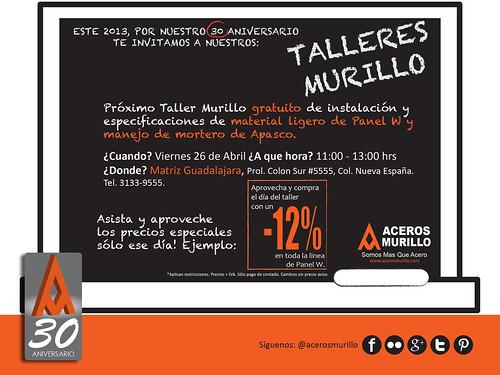Éste Viernes en Matriz nuestro Taller Murillo by Aceros Murillo