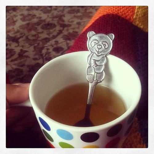 Tea and pandas