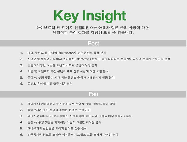 Key insight