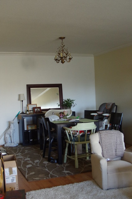 Painting A 25 Thrift Store Mirror For Our Dining Room Jump Start Your Joy
