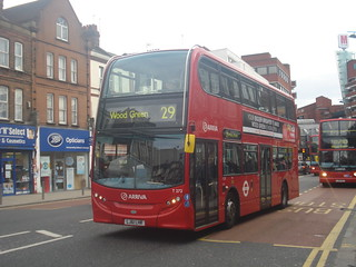 Arriva T212 on Route 29, Wood Green
