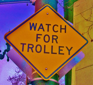 WATCH FOR TROLLEY