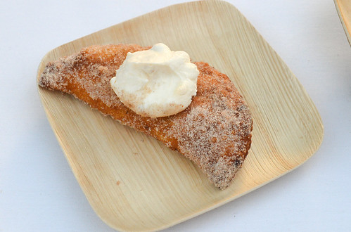 Apple 'Dolly Madison' Style Pie with Crunchy Whipped Cream - Lemonade, LA