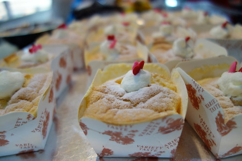 hokkaido chiffon cakes, baking class by munch ministry