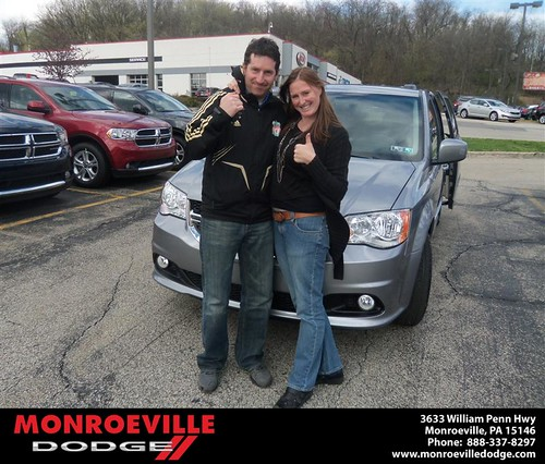 Monroeville Dodge would like to say Congratulations to Neil McIntyre on the 2013 Dodge Caravan by Monroeville Dodge