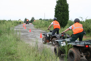 Driver Training at GPSTC : ATV Training