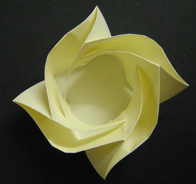 Origami Kawasaki Rose Box Tutorial  Origami Tutorials