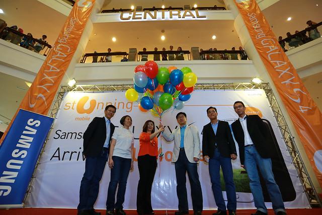 Samsung GALAXY S4 Launch. Photo 4
