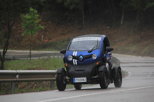 Josep L. Aragonés Vázquez se puso a los mandos del Renault Twizy