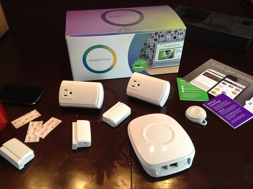Got my @SmartThings!