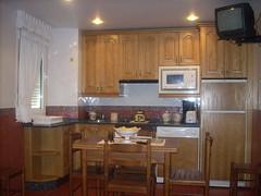 Cocina. Apartamentos Rurales Casa Carola