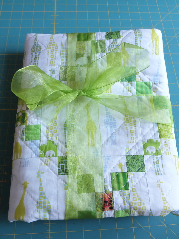 Baby Samra's Quilt Wrapped Up