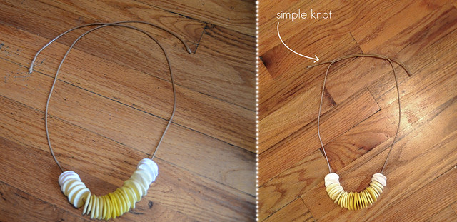 DIY Banana Chips Necklace