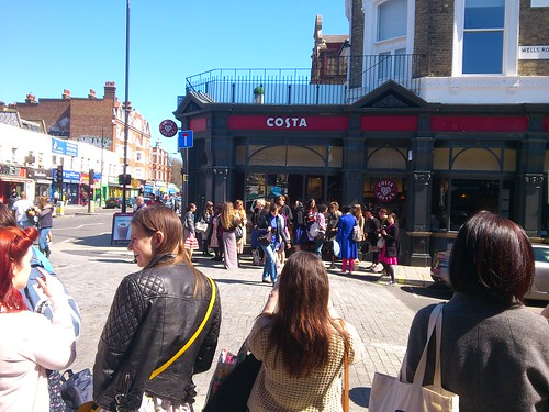 20 - Costa Coffee outside Goldhawk Road Station