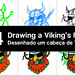 Tutorial - Drawing a Viking's head by Marcos D. Torres