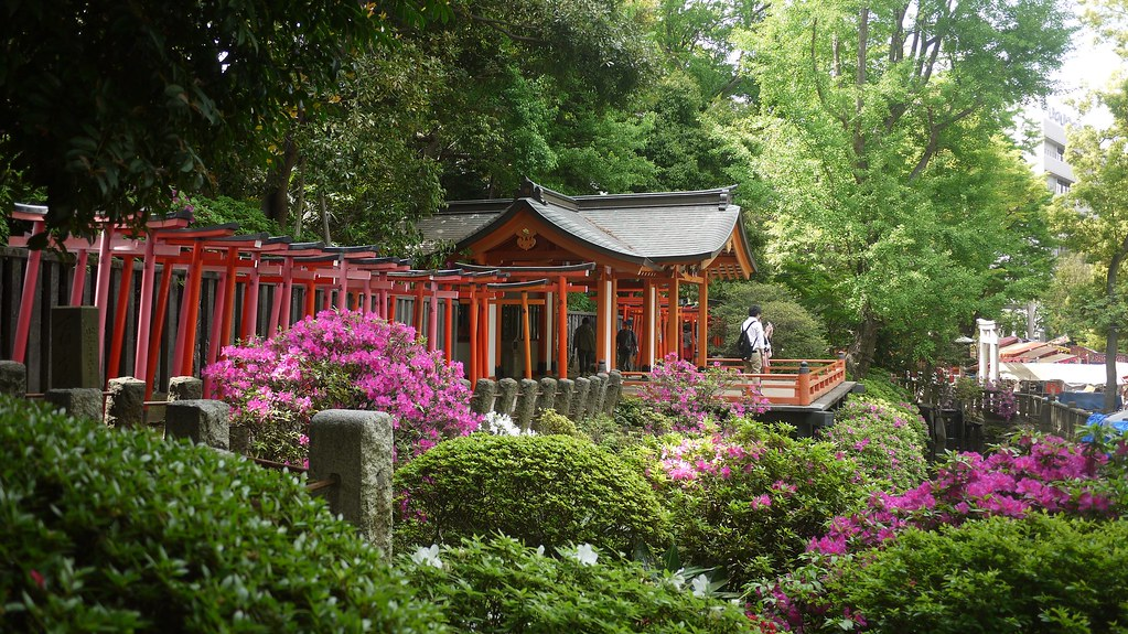 Nezu Shrine Garden