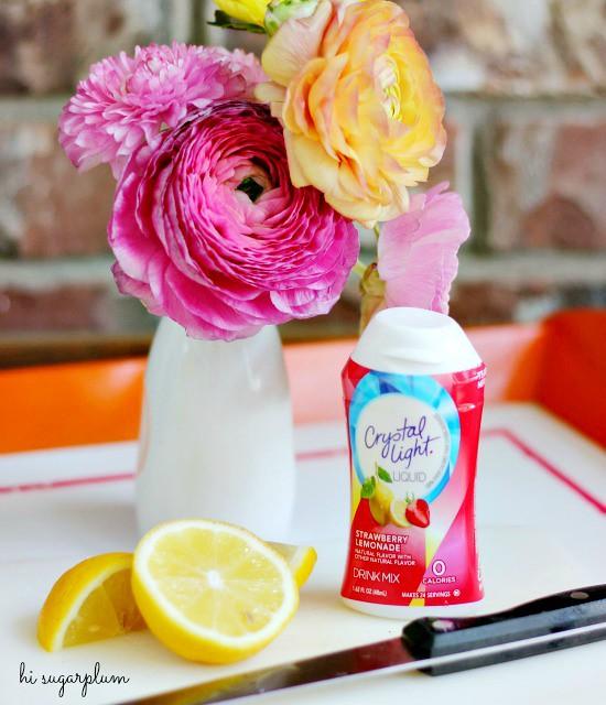 Hi Sugarplum | Cheery Outdoor Table