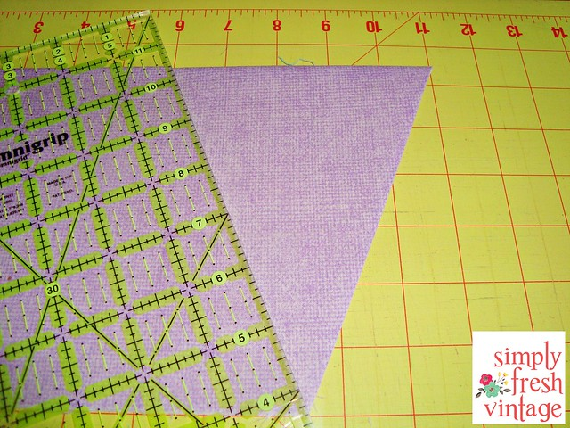 Quick & Easy Bunting ... Step 8