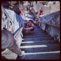 Steeeeeeep steps