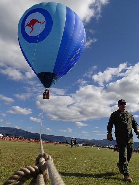 RAAF Balloon - Wings Over Illawarra airshow