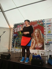 Mieze Medusa hosted den Stadtfest Wien Poetry Slam