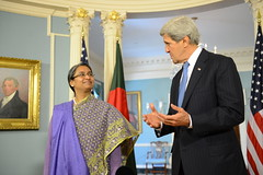 Secretary Kerry Meets With Bangladeshi Foreign Minister Moni