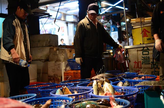 2013.05.18 基隆 / 崁仔頂漁市場