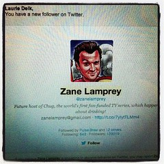 Honored to be one of only 649. @zanelamprey #sweet #happy