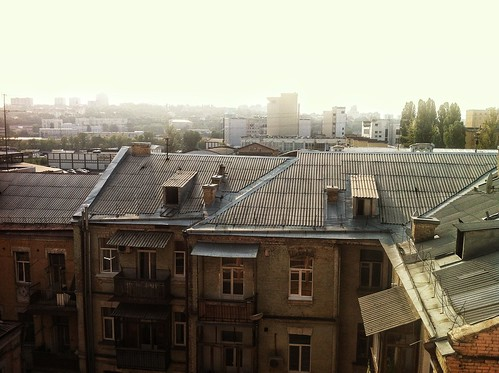 Kyiv. View from some balcony. by grocap