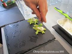 ©Kräuterwaffel mit Ziegenfrischkäse-Dip