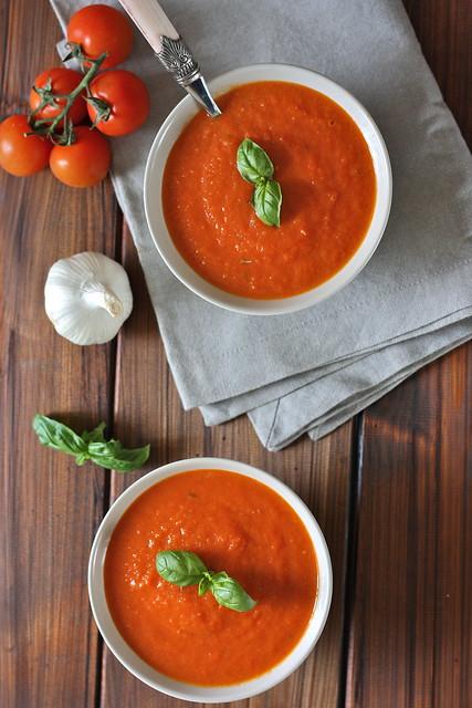 zuppa di verdure arrosto
