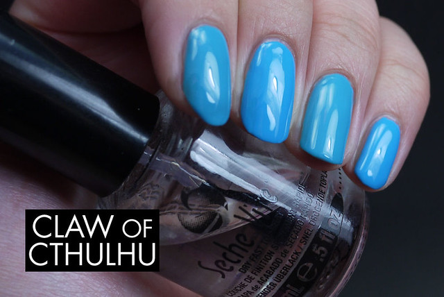 Deborah Lippmann On The Beach vs. China Glaze Sunday Funday