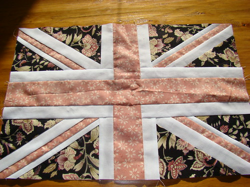Union Jack block for Sam in Stars in Their Eyes