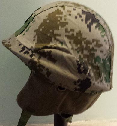 PLA GK82 Airborne Helmet with Type 07 Camo Cover 10237303063_20ece54d8e_o