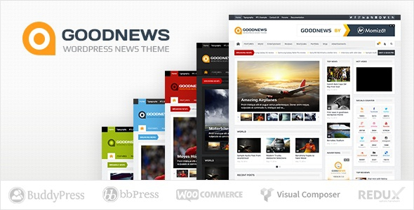Goodnews v5.8.5.2 - Responsive WordPress News/Magazine