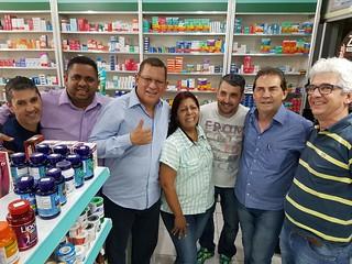 Paulinho participa da campanha em Piracaia-SP