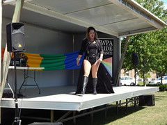 Misty Michaels Kall at Pridefest