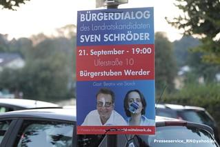 2016.09.21 Werder_Havel Proteste gegen AfD Versammlung (1)