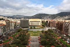 Nice - Tête Carrée & Palais Acropolis