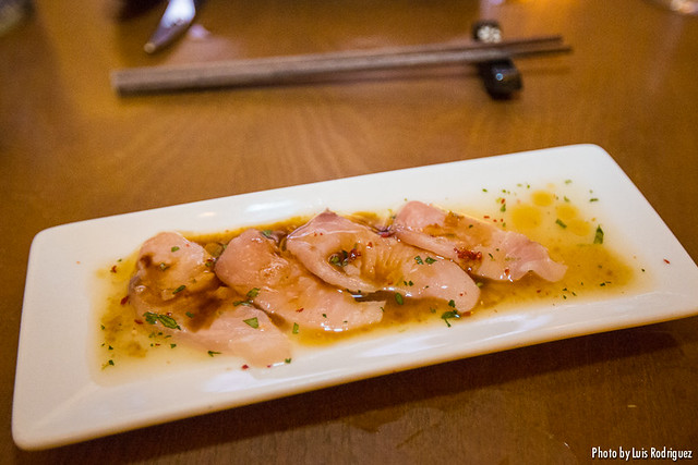 Tiradito de salmón (Asiana Nextdoor)