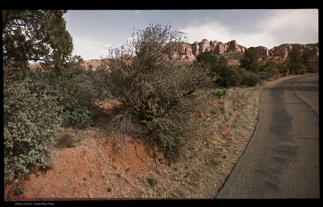 Verde Valley School Road, Sedona, Arizona - Google Maps Redux